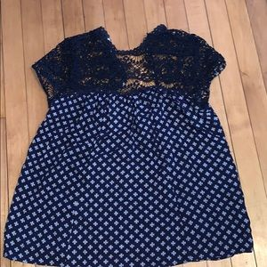 Maurices size small cutout top